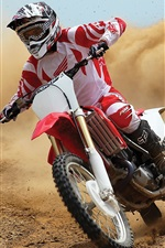 Preview iPhone wallpaper Honda Motorcycle CRF450R