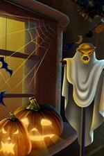Preview iPhone wallpaper Horror Halloween Eve
