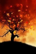 가을 바람을 그리기