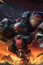 Starcraft terran marauder arma de guerra