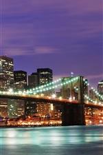 United States New York City night