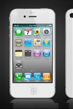 iPhone branco 4S