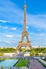 Preview iPhone wallpaper Amazing eiffel tower Paris