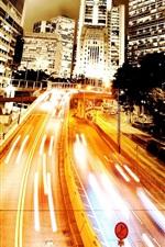 Ambilight 도시 도로
