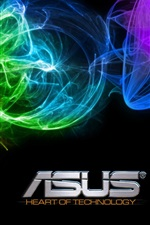 Preview iPhone wallpaper Asus abstract background