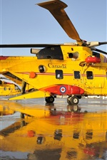 Preview iPhone wallpaper Canada rescue helicopter