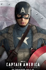 Preview iPhone wallpaper Chris Evans in Captain America: The First Avenger