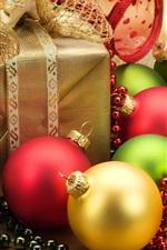 Enfeites de Natal e presentes de Natal