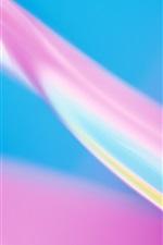 색상 핑크 블루 추상