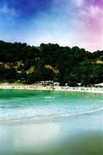 Preview iPhone wallpaper Dream beach