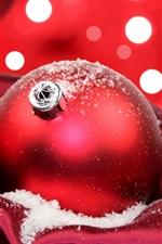 미리보기 iPhone 배경 화면 축제 빨간색 크리스마스 공