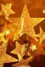 스타 크리스마스 장식은 다섯개