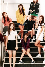 Preview iPhone wallpaper Girls Generation 48
