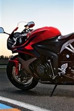 Preview iPhone wallpaper Honda CBR 2011 motorcycle