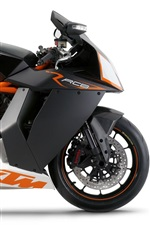 KTM RC8 motorcycle