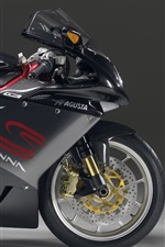 Preview iPhone wallpaper MV Agusta Senna motorcycle