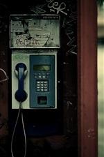 공중 전화 가로등