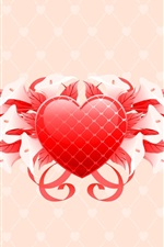Preview iPhone wallpaper Saint Valentine's Day flowers gifts