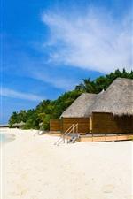 Scenic beach resort