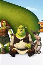 Preview iPhone wallpaper Shrek Forever After