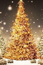 반짝 이는 크리스마스 트리
