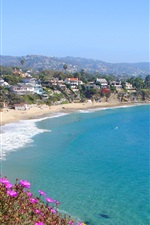 Preview iPhone wallpaper The Beach Cities Orange County