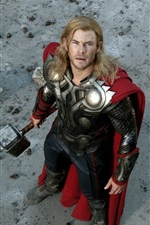 Preview iPhone wallpaper Thor and Captain America in The Avengers