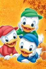 Preview iPhone wallpaper Three brothers duckling