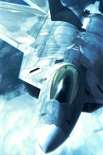 Preview iPhone wallpaper True combat plane