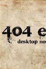 Preview iPhone wallpaper 404 error desktop not found