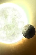 iPhone обои Далекой звездной системе