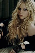 Preview iPhone wallpaper Avril Lavigne 13