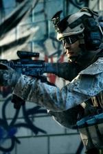 미리보기 iPhone 배경 화면 전장 3 전투 군인