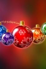 Natal ilustração bolas