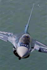 Preview iPhone wallpaper F-16 fighter air show