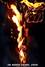 Preview iPhone wallpaper Ghost Rider 2: Spirit of Vengeance