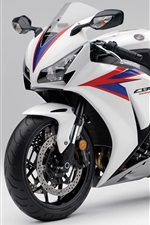 Preview iPhone wallpaper Honda CBR1000 RR 2012 motorcycle