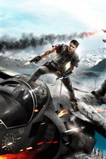 Preview iPhone wallpaper Just Cause 2 HD