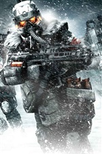 Preview iPhone wallpaper Killzone 3 HD