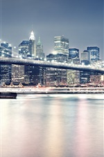 Preview iPhone wallpaper New York City United Brooklyn