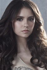 Preview iPhone wallpaper Nina Dobrev in The Vampire Diaries