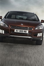 Preview iPhone wallpaper Peugeot 508 car