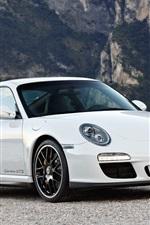 Preview iPhone wallpaper Porsche 911 Carrera GTS 2010