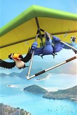 Vorschau des iPhone Hintergrundbilder Rio Film 2011