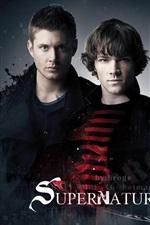 Preview iPhone wallpaper Supernatural Season 6