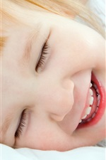 Preview iPhone wallpaper Sweet cute baby smile