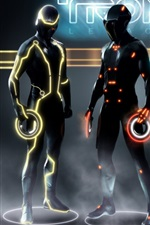 Preview iPhone wallpaper TRON: Legacy HD