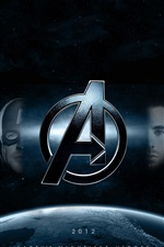 Preview iPhone wallpaper The Avengers 2012