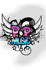 Vetor de música pop