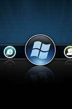 미리보기 iPhone 배경 화면 윈도우 8 베타